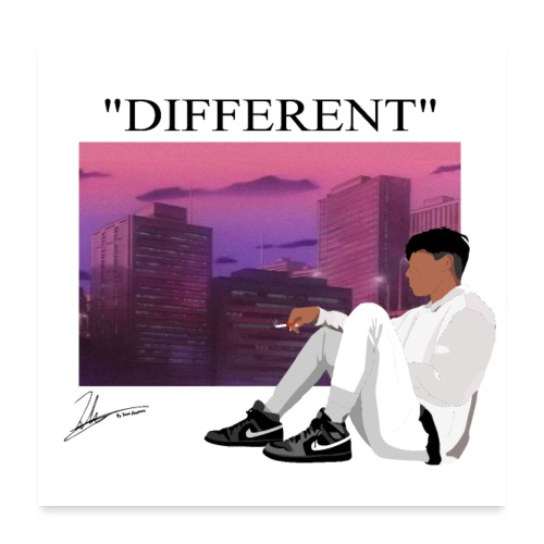 DIFFERENT - Poster 24x24