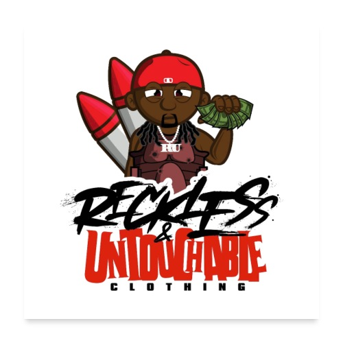 Reckless and Untouchable_1 - Poster 24x24
