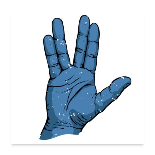 Alien Salute - Poster 24x24