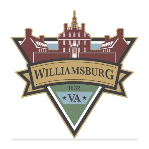 Williamsburg, Virginia, 1632 - Poster 24x24