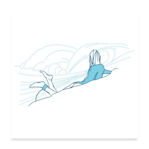 Surfer girl - Poster 24x24