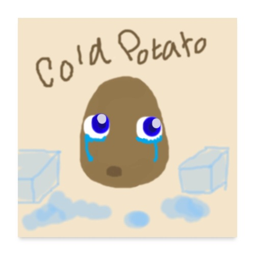 The Cold Potato Poster - Poster 24x24