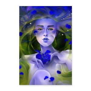 Blue Rose Tea - Poster 8x12