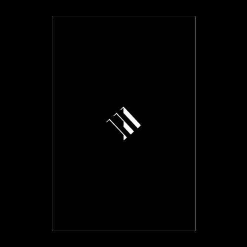 White Logo - Poster 8x12