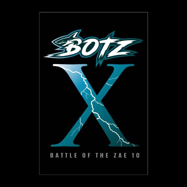 BOTZ X Poster