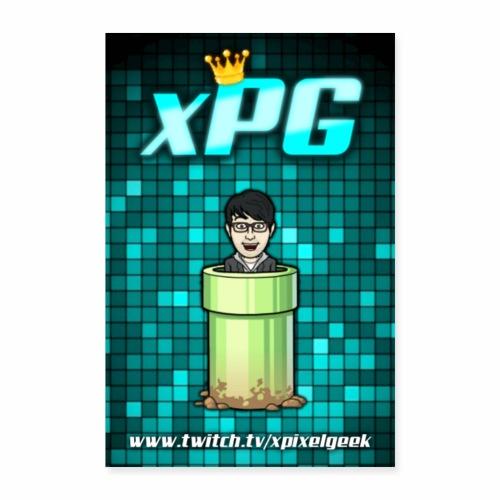 Classic xPG Poster - Poster 8x12