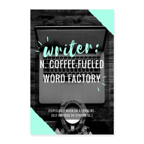 WriterDefinition - Poster 8x12