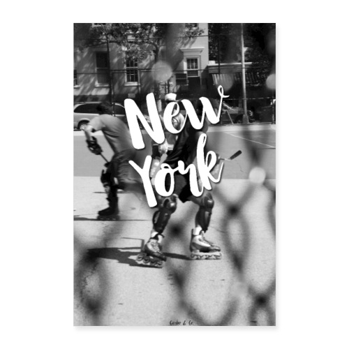 New York - Poster 8x12