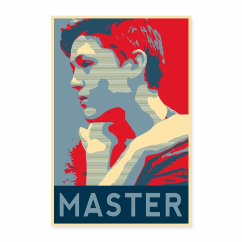 MASTER Poster - Poster 8x12