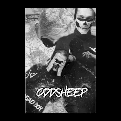 OddSheep Ockie & Yak Poster - Poster 8x12