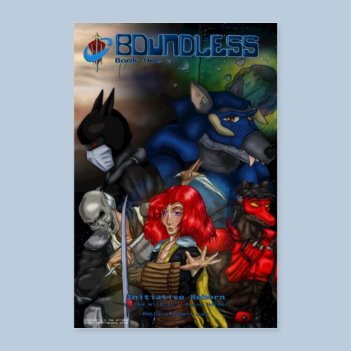 BOUNDLESS Book One Cover Art - Poster 8x12