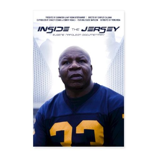 Inside The Jersey: Eugene Napoleon - Poster 8x12