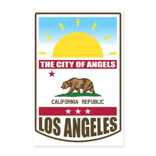 Los Angeles - California Republic - Poster 8x12