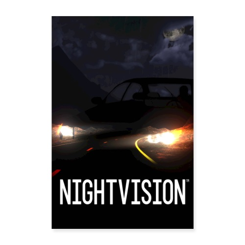 Nightvision Poster - Poster 8x12