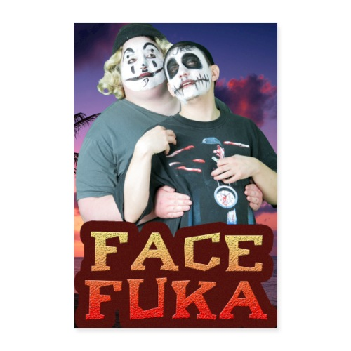 FaceFukaStabby D Poster - Poster 8x12
