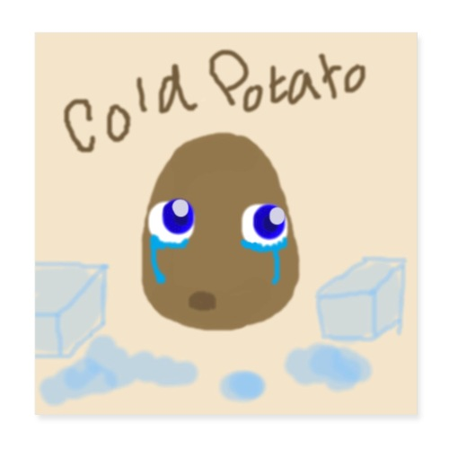 The Cold Potato Poster - Poster 8x8