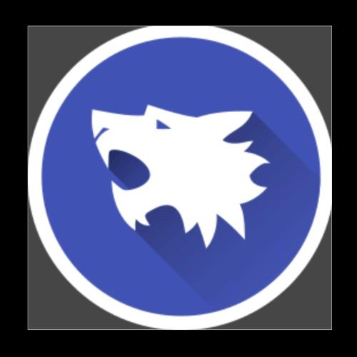Werewolf Online logo grey background - Poster 8x8