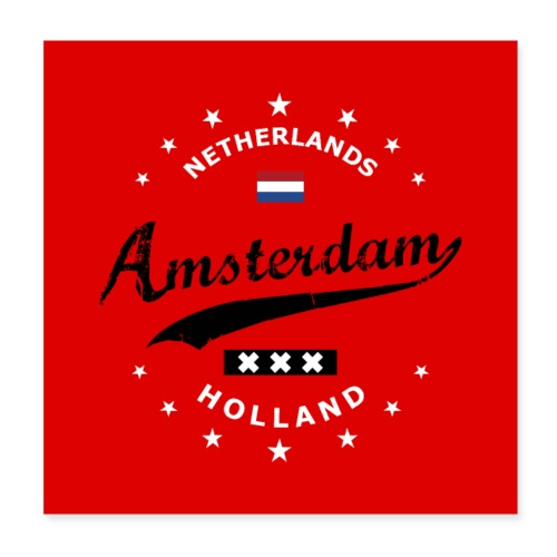 Amsterdam - Poster 8x8