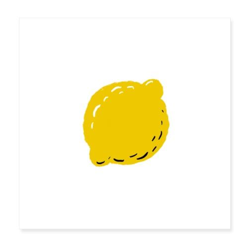 lemon - Poster 8x8