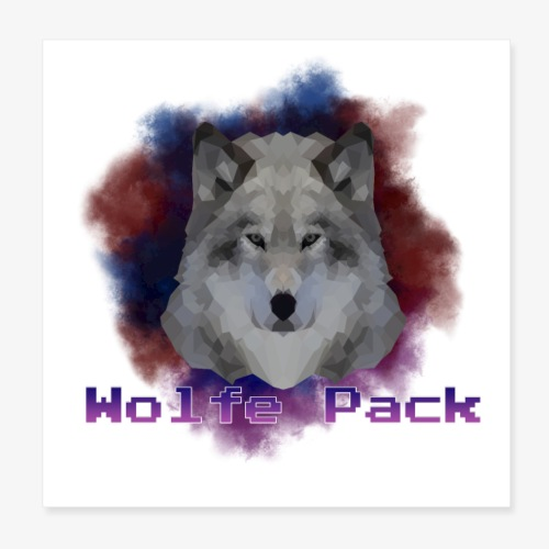 Wolfe Pack - Poster 8x8