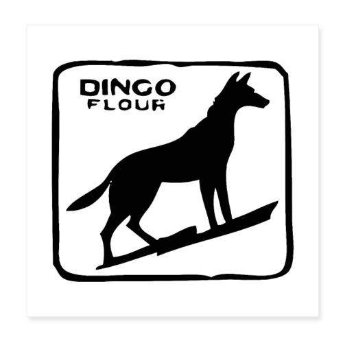 Dingo Flour - Poster 8x8