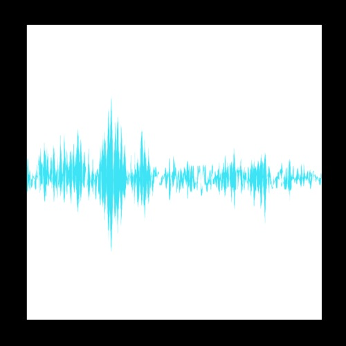Music Sound Waves - Poster 8x8