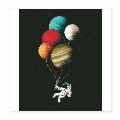 Space fly - Poster 8x8