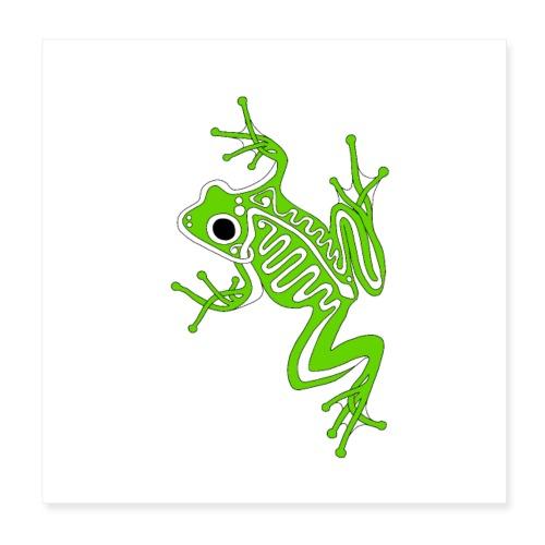 Anglo-Saxon Frog - Poster 8x8