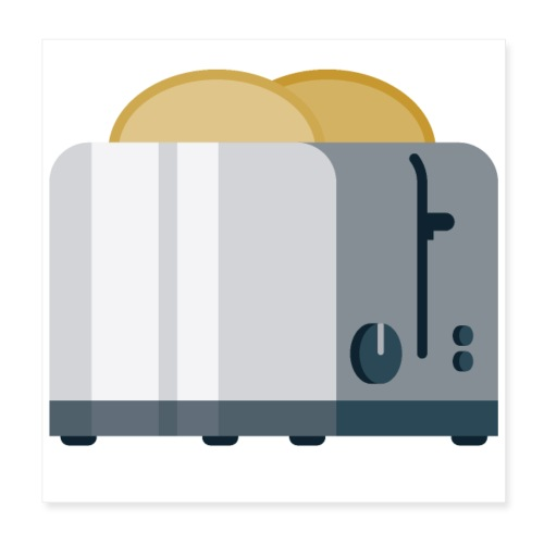 Toaster - Poster 8x8