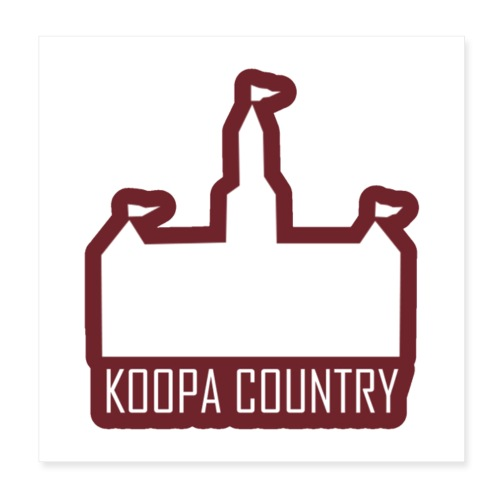 Koopa Country - Poster 8x8