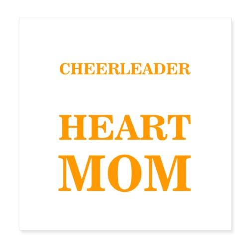 Chearleader Mom - Poster 8x8