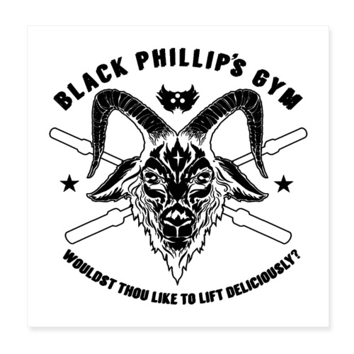 Black Metal Phillip - Poster 8x8