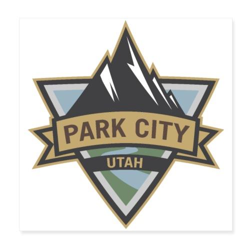 Park City, Utah - Poster 8x8