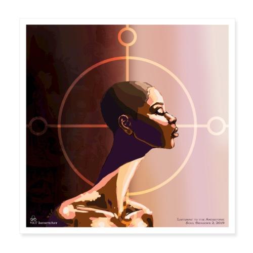 My Ancestors Guide Me - Poster 8x8