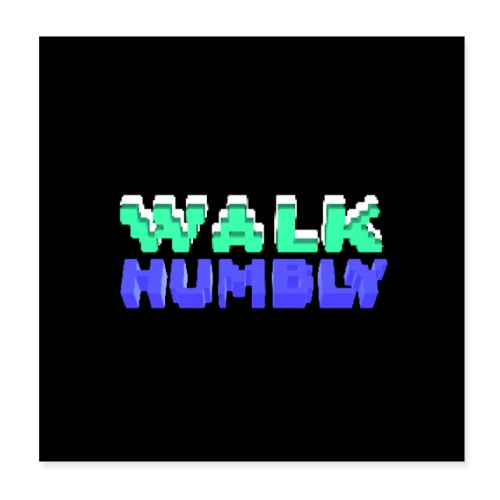 Walk Humbly Poster - Poster 8x8