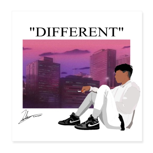 DIFFERENT - Poster 8x8