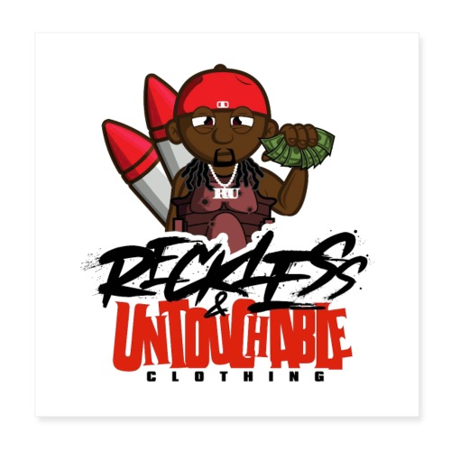 Reckless and Untouchable_1 - Poster 8x8