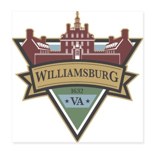Williamsburg, Virginia, 1632 - Poster 8x8