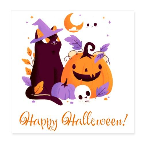 Halloween happy - Poster 8x8