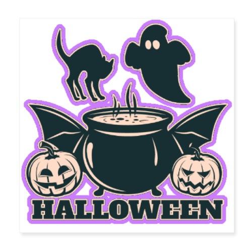 Happy Halloween - Poster 8x8