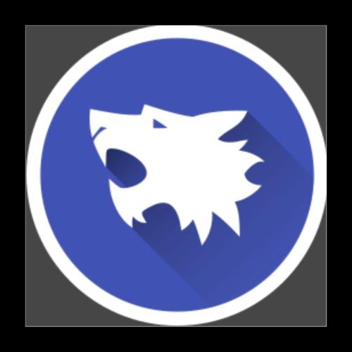 Werewolf Online logo grey background - Poster 16x16