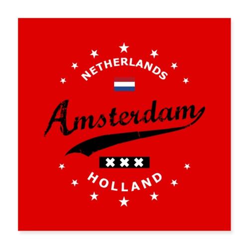 Amsterdam - Poster 16x16