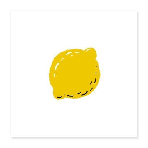 lemon - Poster 16x16