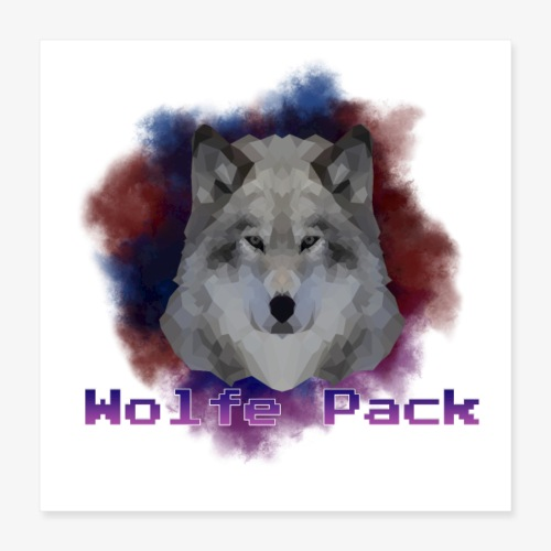 Wolfe Pack - Poster 16x16