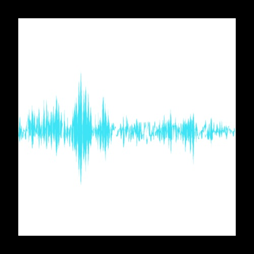 Music Sound Waves - Poster 16x16