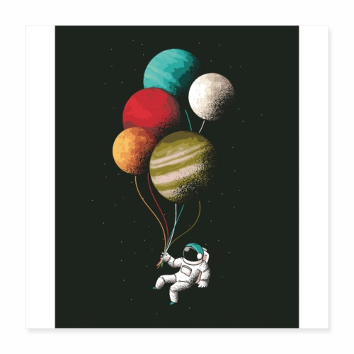 Space fly - Poster 16x16