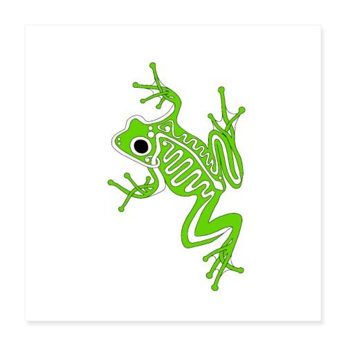 Anglo-Saxon Frog - Poster 16x16