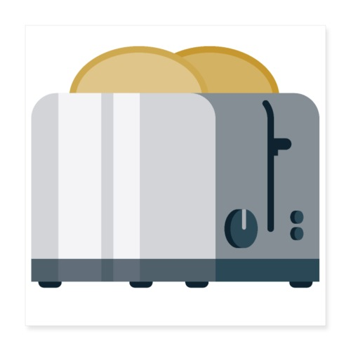 Toaster - Poster 16x16