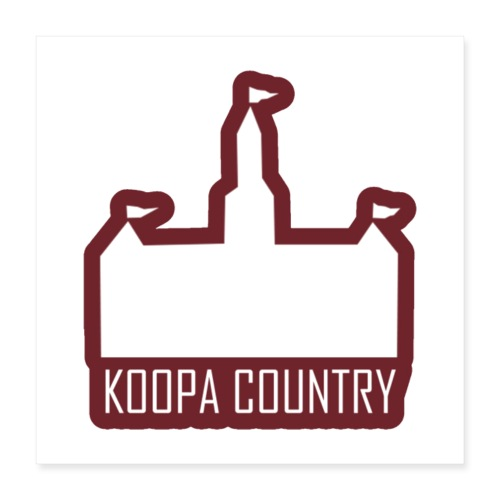Koopa Country - Poster 16x16