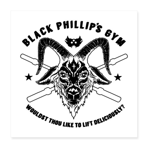 Black Metal Phillip - Poster 16x16